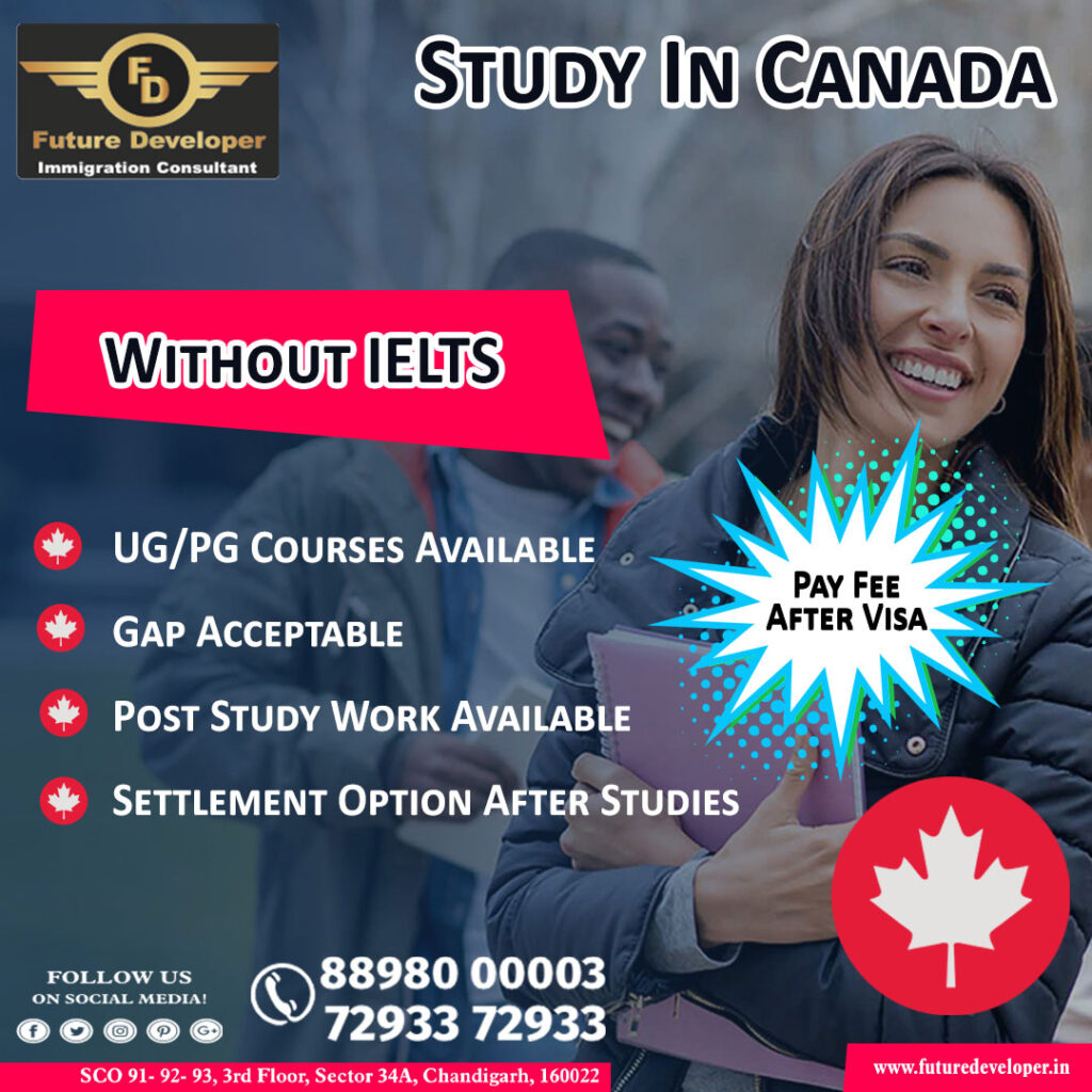 Apply Canada Without IELTS