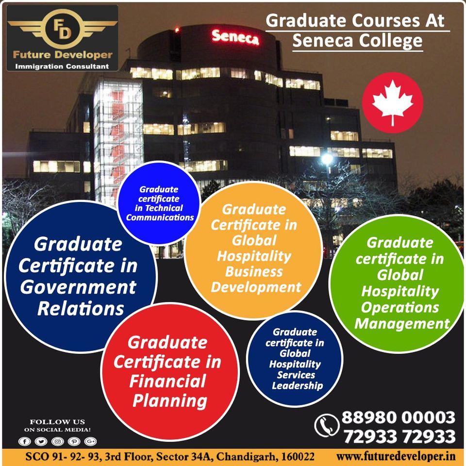 Apply Graduate Courses at Seneca College