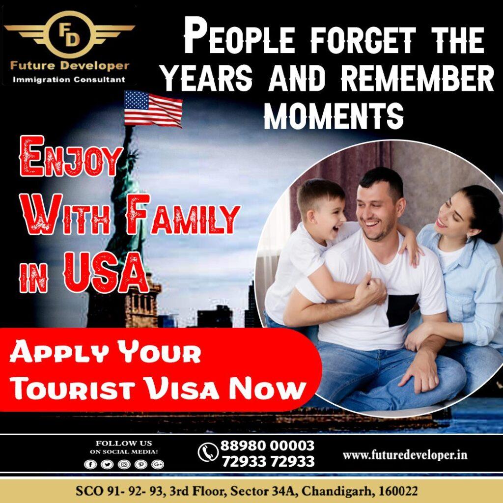 usa tourist visa
