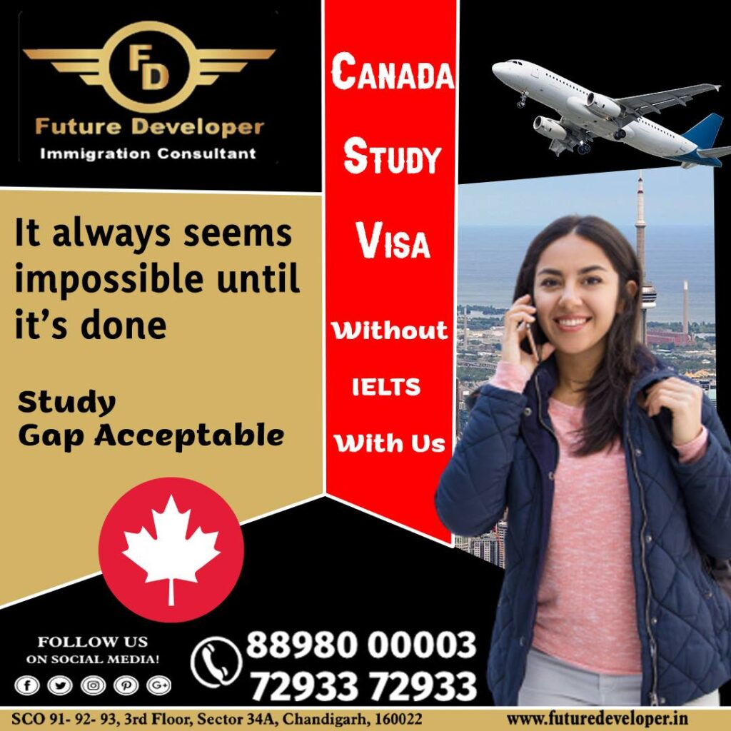 Canada Study Visa Without IELTS