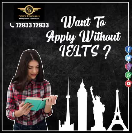 want to apply without IELTS