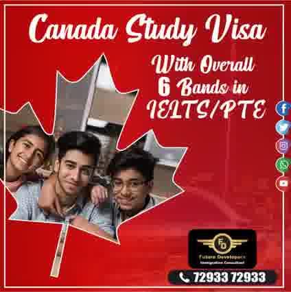 canada study visa overall 6 bands