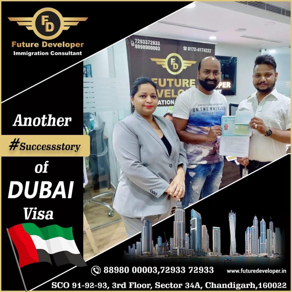 Another Success story of Dubai Visa