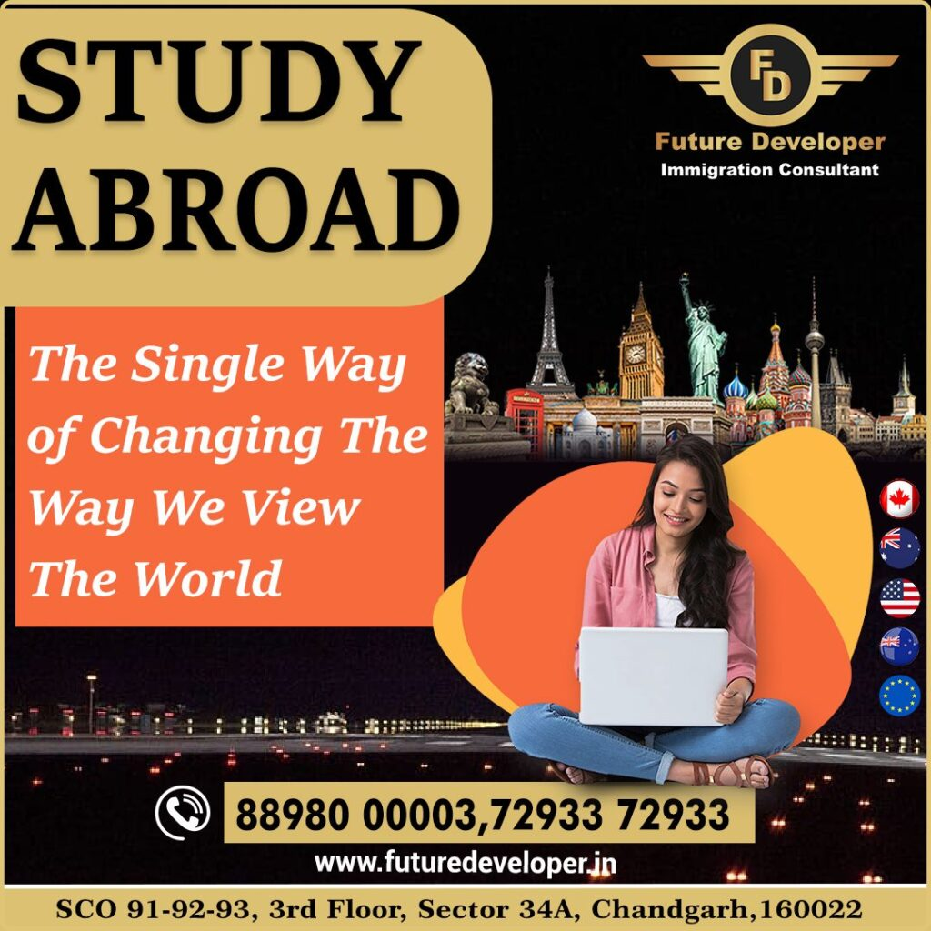 Explore The World With Higher Studies Abroad