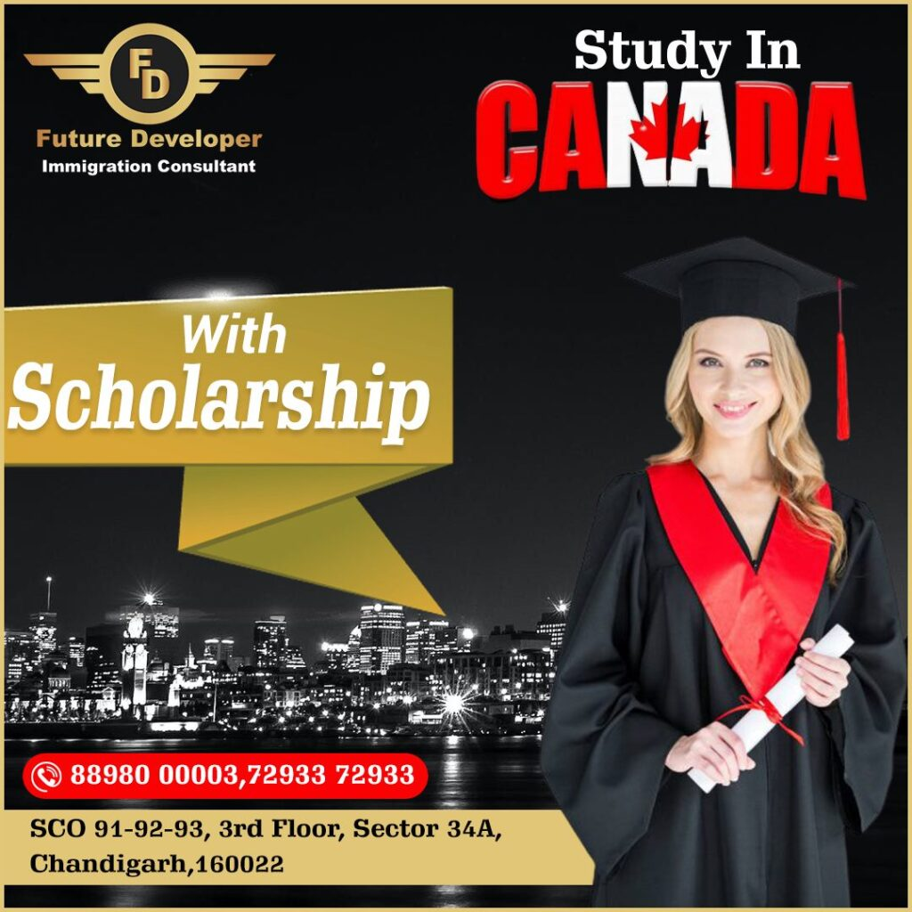 Study & Settle In Canada With Scholarship