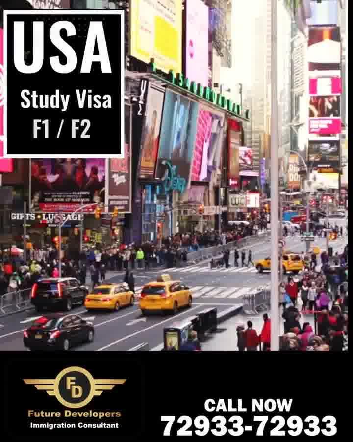 USA Study Visa F1/F2