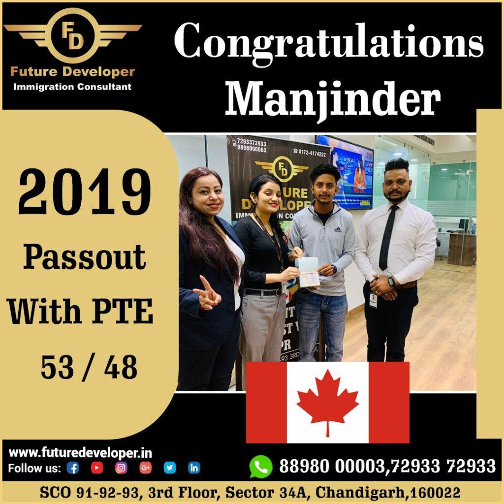 Congratulations!!!! Manjinder