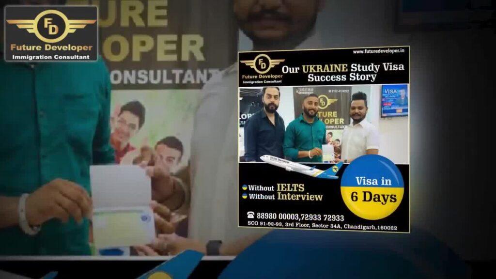 Ukraine Study Visas