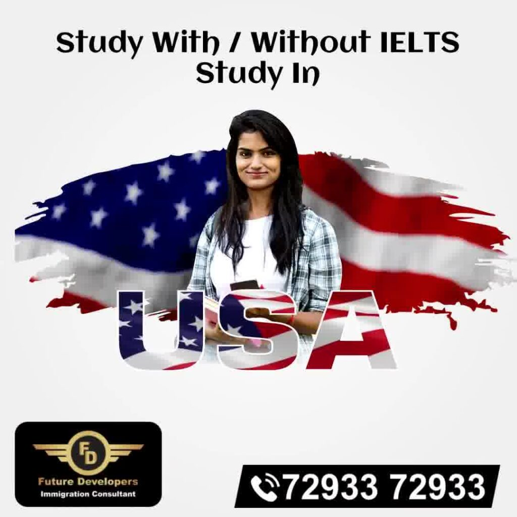 Study With / Without IELTS